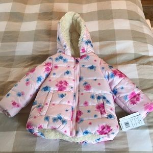 NWT Floral Toddler Coat!!!